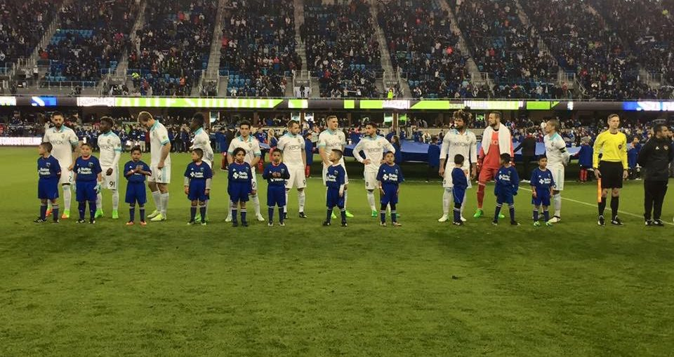 04/10/2017 - San Pablo Aztecas Juniors at the Earthquakes Game