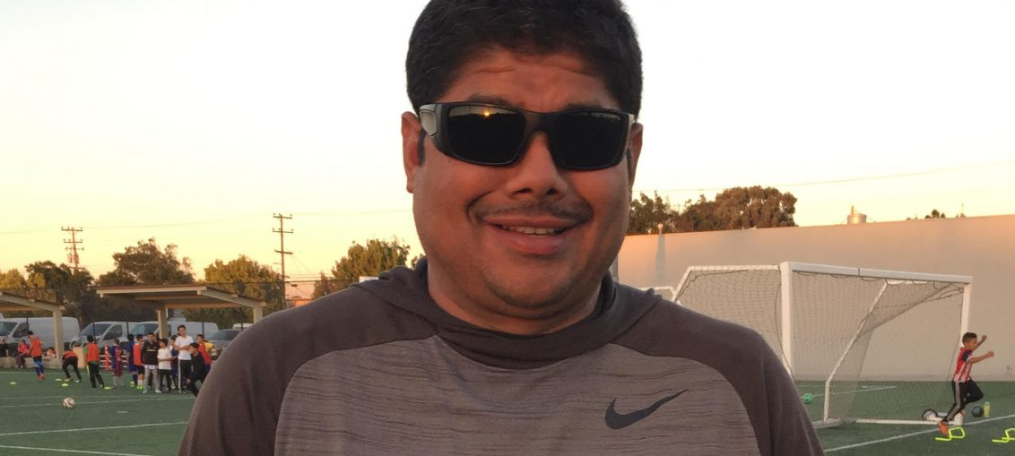 November 2017 Coach of the Month - Arnold Guzman