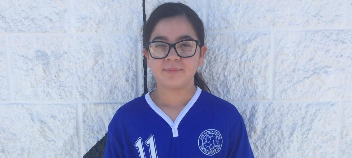 February 2018 Player of the Month - Sophia Arellano