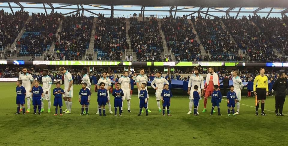 4/10/2017 - U-8 San Pablo Aztecas Junior at Earthquakes Game