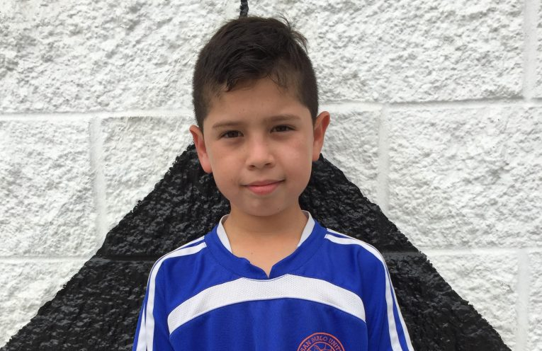 SPUYSC July 2017 Player of the Month Franco Arellano Jr.