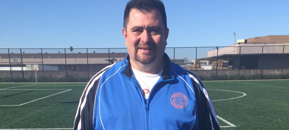 February 2018 Coach of the Month - Oscar Figueroa